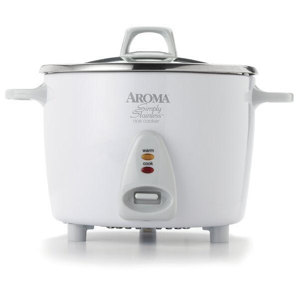 14-Cup Simply Stainless Rice Cooker by Aroma