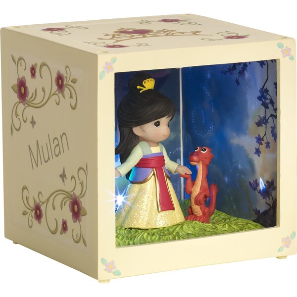Disney Showcase Mulan Resin/Vinyl LED Decorative Box by Precious Moments