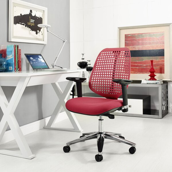 Reverb Premium Mid-Back Desk Chair by Modway