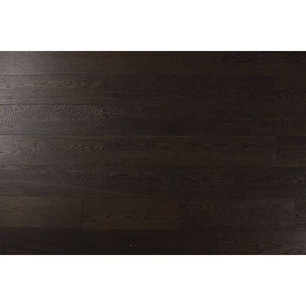 6-1/2 Engineered Oak Hardwood Flooring in Medium Brown by Albero Valley