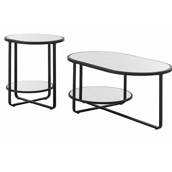 Brendis 2 Piece Coffee Table Set by Ivy Bronx Ivy Bronx