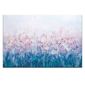 Lily's by Brenda Meynell Painting Print on Wrapped Canvas by Artist Lane