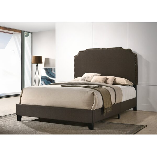 Schuman Upholstered Standard Bed by Charlton Home