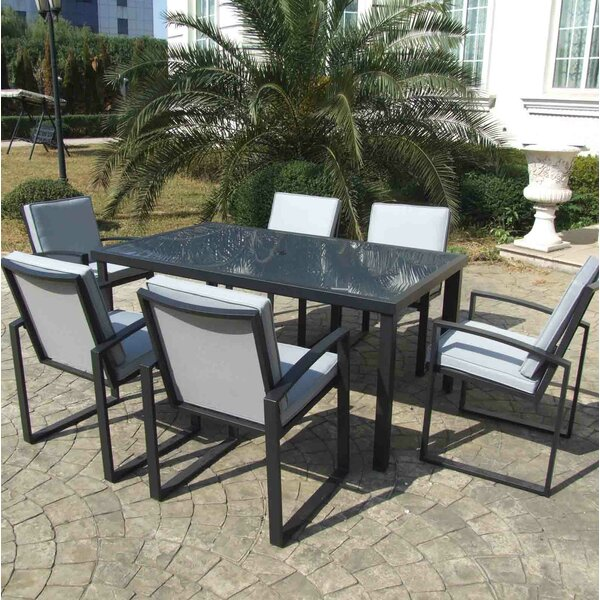 Patio Dining Chair with Cushion (Set of 6) by Gazebo Penguin
