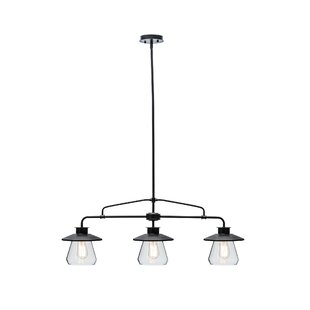 Bessie Zoey 3 Light Kitchen Island Pendant