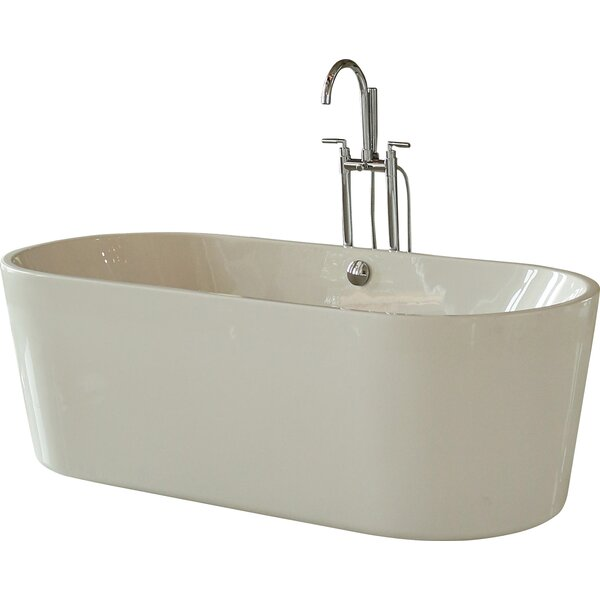69.5 x 31.25 Soaking Bathtub by Signature Bath