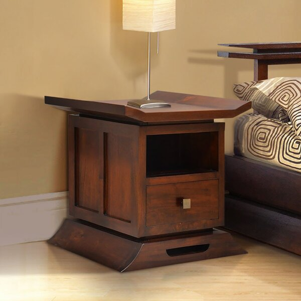 Review Cecere 1 Drawer Nightstand