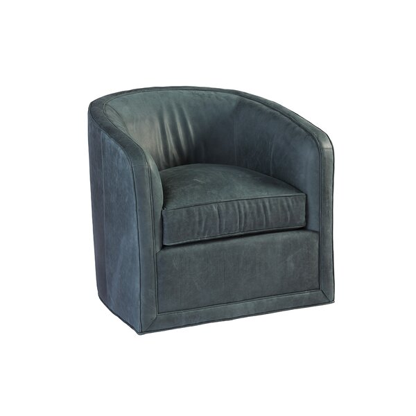 Los Altos Swivel Barrel Chair by Tommy Bahama Home