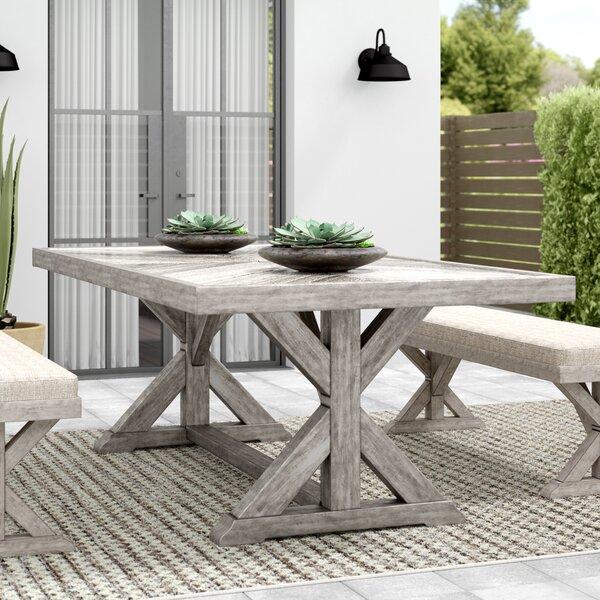 Farmersville Aluminum Dining Table by Greyleigh
