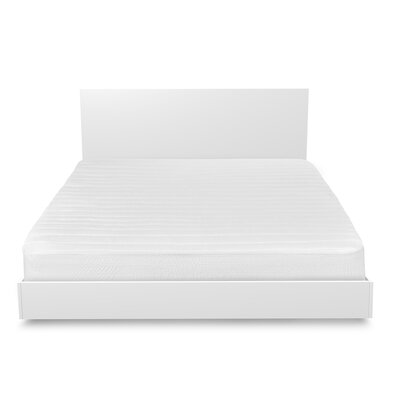 Polyester Mattress Pad Bed Size: Queen