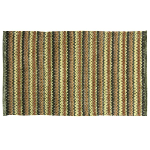 Brenden Hand-Woven Green Area Rug by Bacova Guild