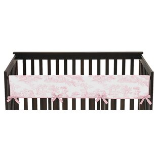Best Reviews French Toile Long Crib Rail Guard Cover BySweet Jojo Designs