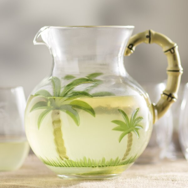 Stadler Coastal Acrylic Pitcher by Beachcrest Home