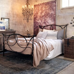 Cursive Iron Four Poster Bed by Design Tree Home