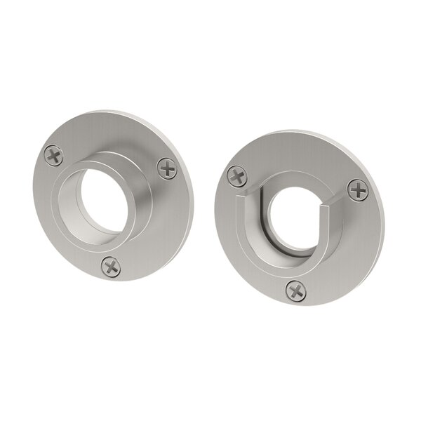 Wall Flange, Pair in Chrome (Set of 2) by Gatco