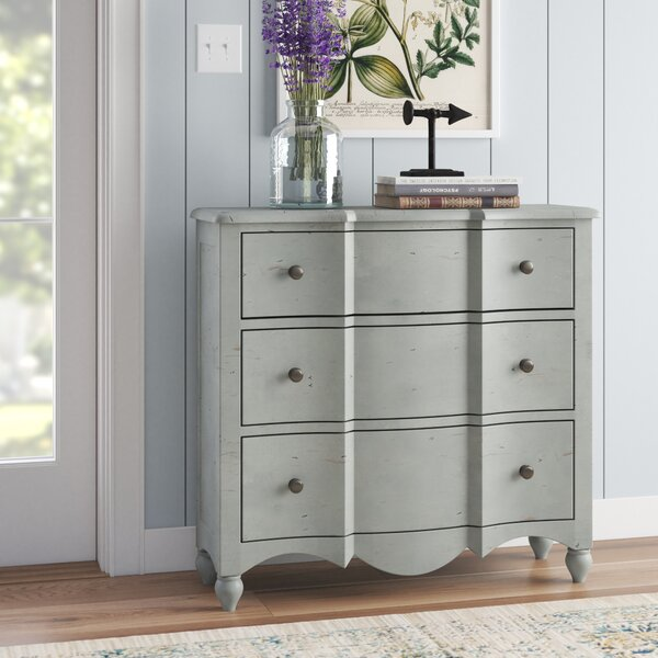 Ozment 3 Drawer Accent Chest by Lark Manor Lark Manor