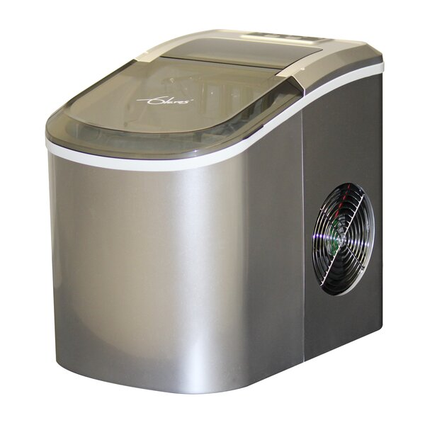 Premium 26 lb. Daily Production Portable Ice Maker by Glaros