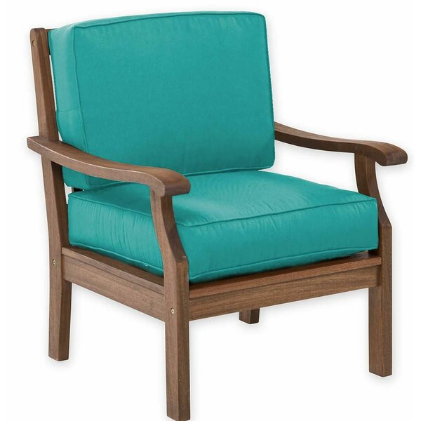 Claremont Patio Chair with Cushion by Plow & Hearth