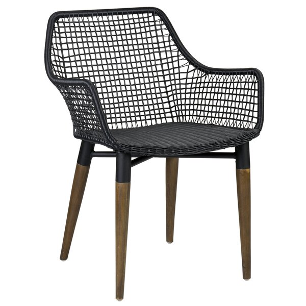 Hatmaker Patio Dining Chair by Bungalow Rose