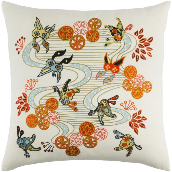 Kismet Chinese River Pillow Cover by emma at home by Emma Gardner