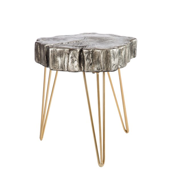 Robitaille Log End Table by Mercer41