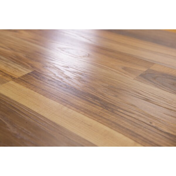 Porto 9 x 48 x 8mm Oak Laminate Flooring in Barley by Branton Flooring Collection