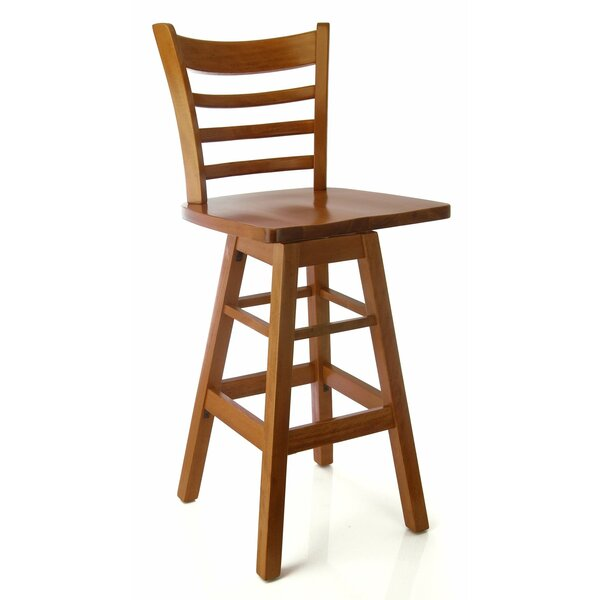 Jobe 30 Swivel Bar Stool by Charlton Home