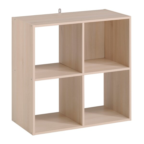 Aarav 4 Cube Unit Bookcase by Ebern Designs