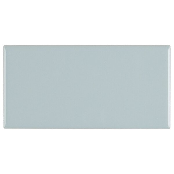 Guilford 3 x 6 Ceramic Subway Tile in Spa by Itona Tile