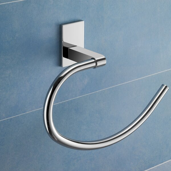 Maine Wall Mounted Towel Ring by Gedy by Nameeks