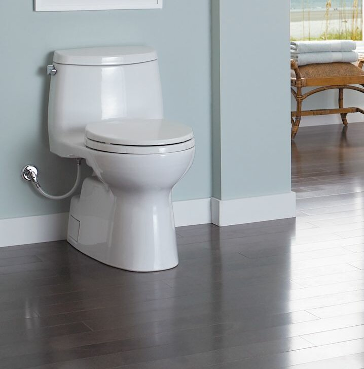 Toto Carlyle 1.28 GPF Elongated One-Piece Toilet & Reviews | Wayfair