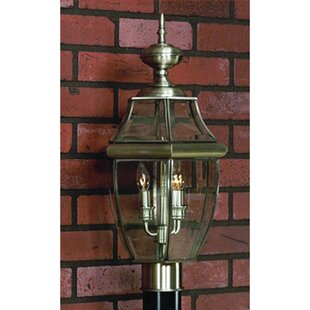 Reviews Millbrook Outdoor 2-Light Lantern Head By Three Posts