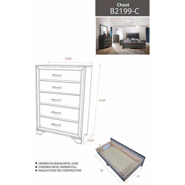 Oceana Standard Configurable Bedroom Set by House of Hampton