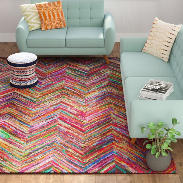Barnes Hand Tufted Multi-Colored Area Rug by Mista