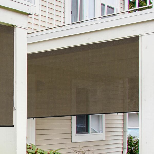 Exterior Solar Shade 4 ft. W x 6 ft. D Retractable Side Awning by Radiance