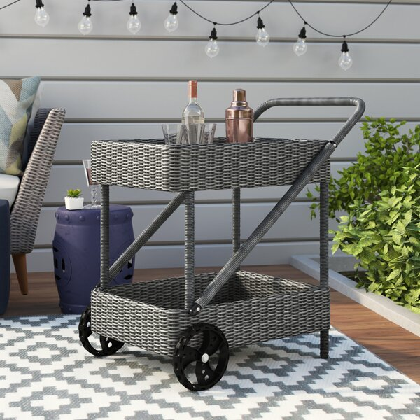 Keiran Bar Serving Cart by Brayden Studio