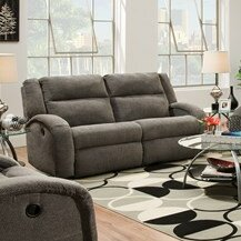 Perfect Quality Maverick Double Reclining Sofa by Southern Motion by Southern Motion