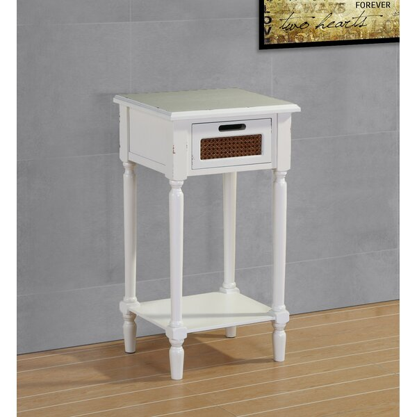 Rudy End Table By August Grove