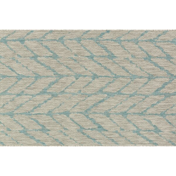 Bundy Mist/Aqua Indoor/Outdoor Area Rug by August Grove