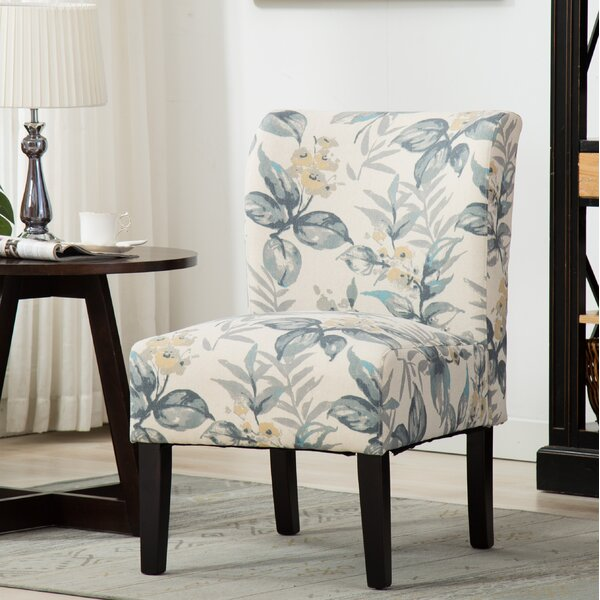 Crescentia Slipper Chair by Winston Porter