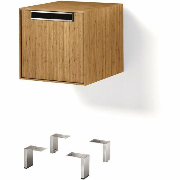 Scotts Valley Storage Unit Organizer 15.75 W x 18.98 H Cabinet by Brayden Studio