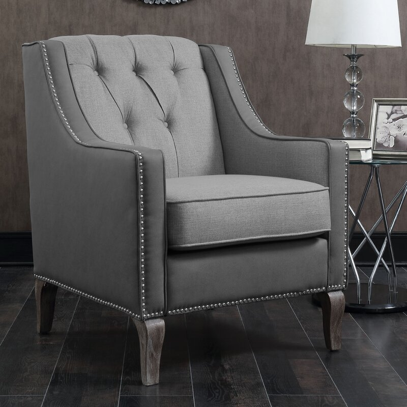 Amazing Kaven Linen Armchair By Darby Home Co Purchase