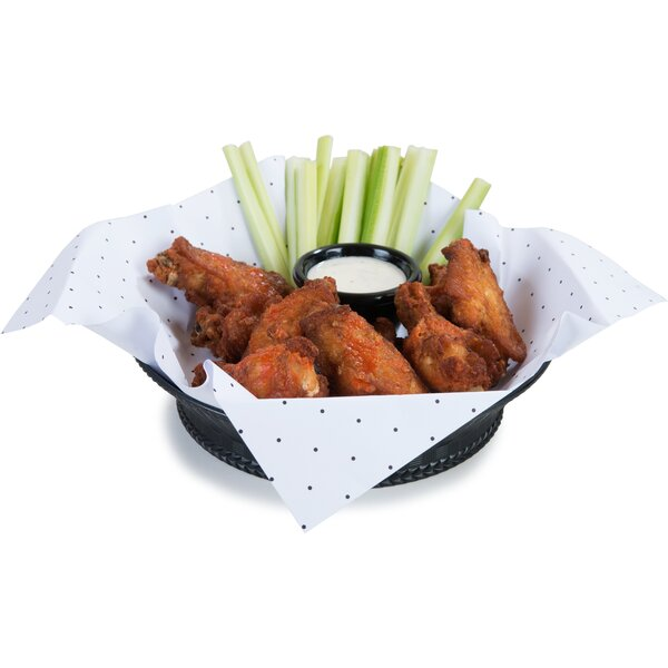Round Weavewear Platter (Set of 12) by Carlisle Food Service Products