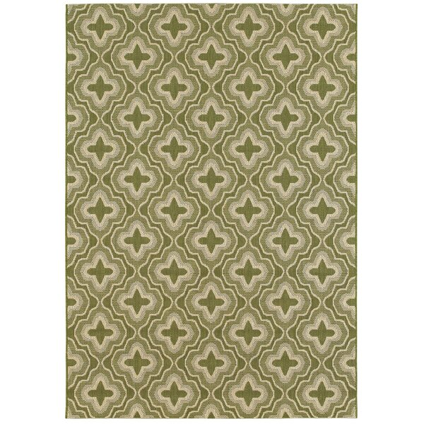 Cedillo Golden Wheat Indoor/Outdoor Area Rug by George Oliver