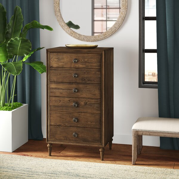 Solana 6 Drawer Lingerie Chest by Greyleigh