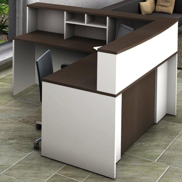 4 Piece L-Shape  Desk Office Suite by OfisLite
