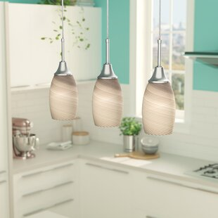 Centralia 3-Light Kitchen Island Pendant & Kitchen Island Lighting Youu0027ll Love | Wayfair