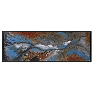 Metal Oil Framed Graphic Art by Latitude Run