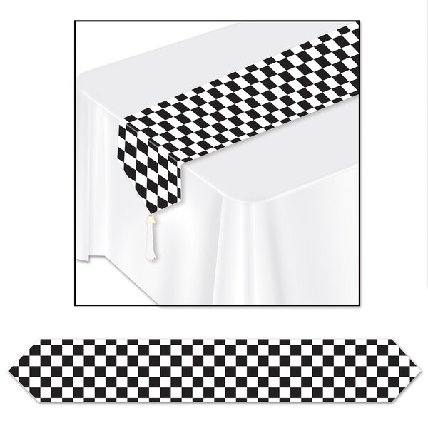 Printed Checkered Table Runner (Set of 3) by The Holiday Aisle
