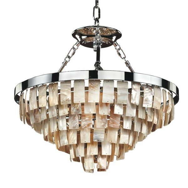Miguel 6 - Light Unique / Statement Tiered Chandelier By Rosecliff Heights